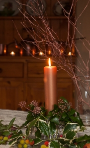 Table decorations prepared by Denise Dunne of  theherbgarden.ie© Jane Powers